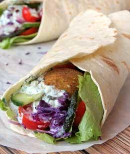 Falafel Rollup